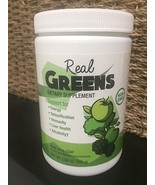 Real GREENS Dietary Supplement Liver Health  Support for energy detoxifi... - $15.99