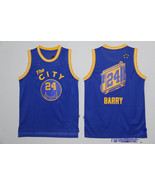 746d11a57 His sons bringing them Golden State Warriors 24 Rick Barry Blue Throwback  Basketball Jersey - 29.99 ...