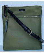 New Kate Spade New York Dawn Dusk Buds Flat Crossbody Nylon handbag Sapling - $79.00