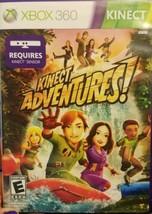Kinect Adventures (Microsoft Xbox 360, 2010) - $9.49