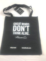 NEW Kenneth Cole Tote Bag Great Minds Don't Think Alike - $25.15