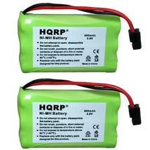 2-Pack HQRP Phone Battery for Uniden TRU9480 TRU9488 TRU9496 TRU9565 TRU9565-2 - $14.45