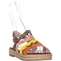 Cole Haan Emilia Espadrille Slingback Sandals, OCLT/KOI, 6 US - $56.63