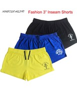 Bodybuilding Shorts Mens Gym Golds Gyms Fitness Short Muscle Training Ru... - $12.99+
