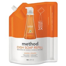 Dish Soap Refill, Clementine Scent, 36 Oz Pouch, 18 pouch - $296.71