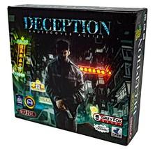 Grey Fox Games Deception: Undercover Allies Board Game - $32.33