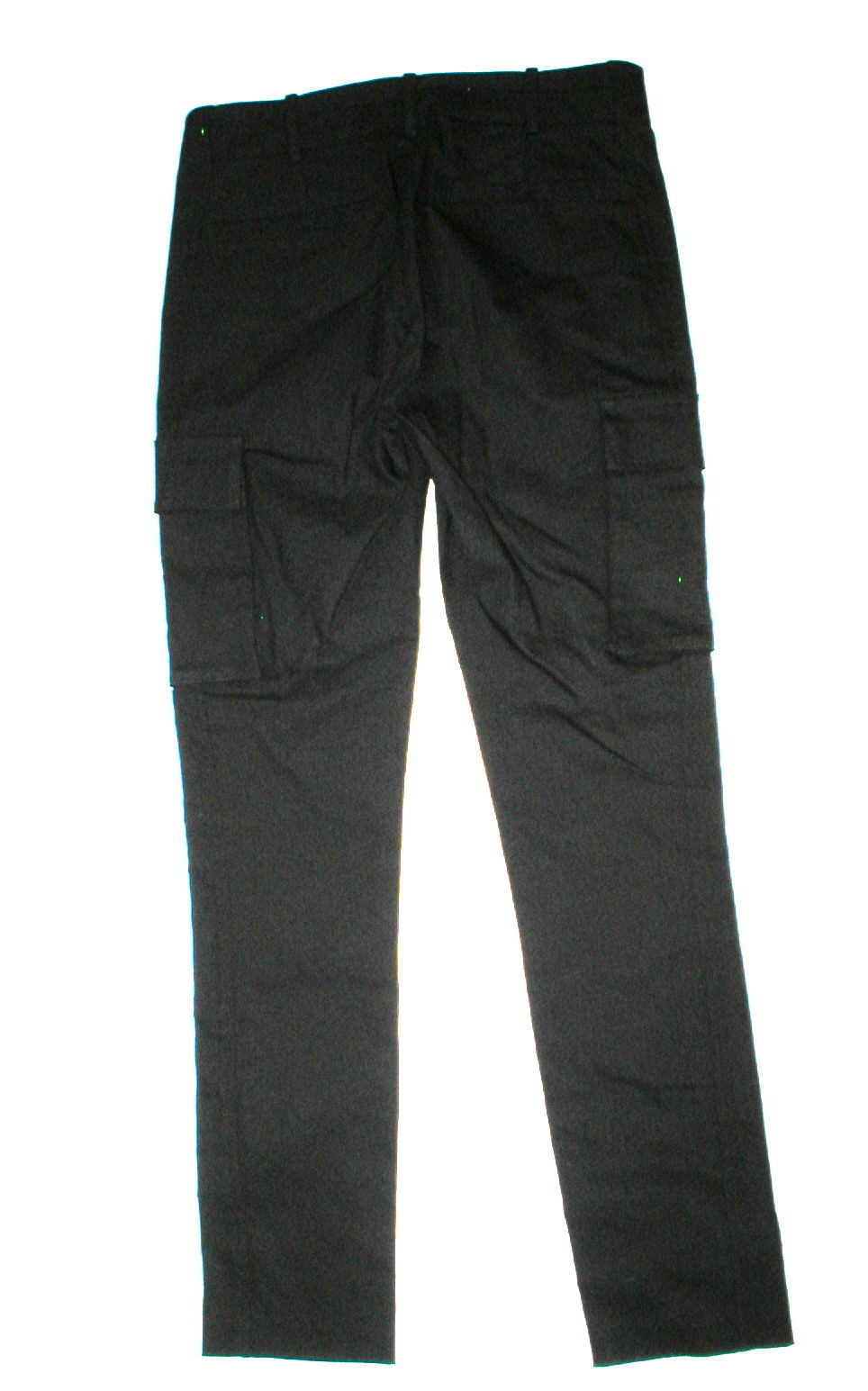 New Womens Designer NWT LAMB Gwen Stefani Cargo Pants Stretch Skinny 6 Black image 8