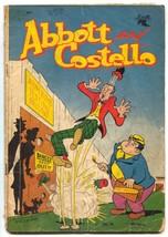 Abbott and Costello #14 1952- Atom Bomb Testing Ground cover FAIR - $40.35