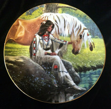 Hamilton Collection Plate PRAIRIE FLOWER by David Wright Princess of the... - $15.00