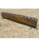 Wooden 12 Hole Sugar Mold CANDLE Holder COMPLETE Set 2293 bz - $139.99