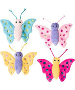 Ethical Assorted Shimmer Glimmer Butterfly W/catnip Cat Toy 5.5in 077234... - $15.12