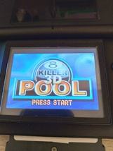Nintendo Game Boy Advance GBA Killer 3D Pool image 1