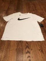 Mens White The Nike Tee Swish Athletic Cut XXL K3 - £11.08 GBP