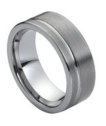 Tungsten Carbide Wedding Band Ring - Silver Color - Price for one ring -   - $49.99