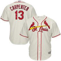 Matt Carpenter St Louis Cardinals 2017 Alternate Cool Base Men Jersey - $49.99