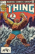 (CB-51) 1983 Marvel Comic Book: The Thing #1 - $22.00
