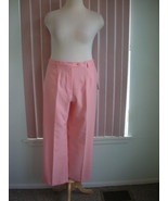 Koret Perfect Fit Casual Peach Linen Slacks Size 18 - $14.99