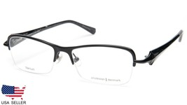 NEW PRODESIGN DENMARK 5314 c.6021 BLACK EYEGLASSES FRAME 51-16-135 B32mm... - $89.09