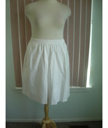 White Skort by Koret Size 18 - $12.99