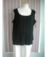 Black Tank Top by Liz Claiborne Size 3X - $9.99