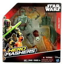 Boba Fett Star Wars Hero Mashers 2015 Action Figure Sealed New  - $15.79