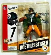 Pittsburgh Steelers #7 Ben Roethlisberger Action Figure By Todd Mcfarlane - $30.00