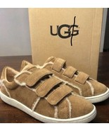 NIB WOMEN'S UGG Women's ALIX Tan SPILL SEAM Sneakers SIZE 8.5 Shoes Kicks - $84.55