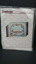 Beadshine Janlynn Counted Cross Stitch Kit Welcome to my Garden NEW Sampler 5689 - $24.74