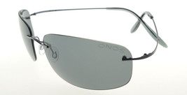 Onos Latitude Rimless Titanium Gunmetal / Gray Polarized Sunglasses - $98.01