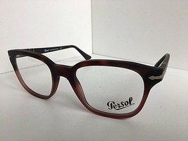 New Persol Amber 48mm Eyeglasses Frame Hand Made Italy - $59.99