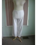 Koret Poly/Cotton White Knit Slacks Size XL - $12.99