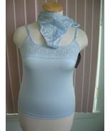 Cuddle Duds Blue Camisole & Thong Set Sz XL - $9.99