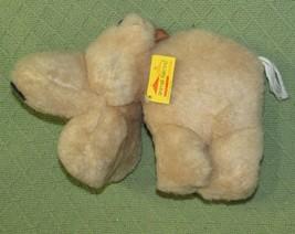 "Vintage Animal Fair HIPPO 1976 ORIGINAL TAG Tan Plush Stuffed 10"" RARE A... - $49.50"