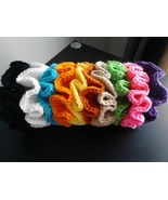 10 Crochet Scrunchies/Variety of Colors - $20.00