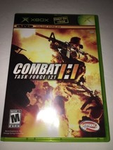 Combat Task Force 121-Original Xbox Game-TESTED Collectible VINTAGE-FAST Ship - $9.68