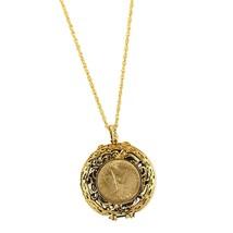 American Coin Treasures Mustard Seed Locket Angel Coin Pendant - $60.15