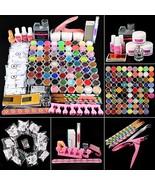 Fashion Zone Acrylic Nail kit with 3pcs Acrylic Powder,120ml Acrylic Liq... - $66.99