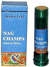 Nandita Body Oil - Nag Champa - 8ml - Incense Oil / Roll On - $9.41
