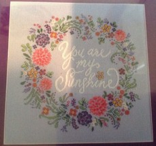 """Zweigart Artiste YOU ARE MY SUNSHINE 11.25"""" x 11.25"""" Counted Cross Stitch Kit   - $14.52"""