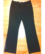 Women's Black Cotton Trousers from Banana Republic ~ SZ 2 Reg ~ Pre-Owned - $18.00