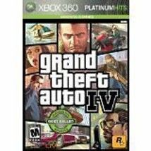 Grand Theft Auto IV -- Platinum Hits Edition (Microsoft Xbox 360, 2009) TESTED - $7.70