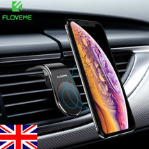 Magnetic Car Phone Holder L Shape Air Vent Mount Stand Mobile Phone Holder - £5.08 GBP