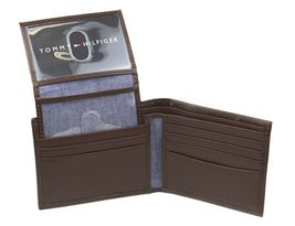 Tommy Hilfiger Men's Premium Leather Credit Card ID Wallet Passcase 31TL220061 image 13