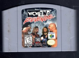 WCW n WO Revenge Nintendo 64 - $14.95