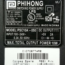 Phihong Switching Power Supply PSC10A-050 118105-001 Output 5V 2A - $10.13 CAD