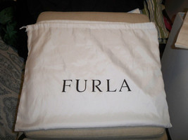 Furla Satin Drawstring Dust Cover Storage Bag 20x16 - $10.39