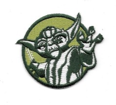 Star Wars The Clone Wars Yoda Using The Force Embroidered Patch NEW UNUSED - $9.74