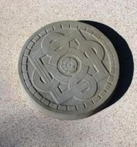 "14"" Celtic Stepping Stone Garden Mold - Buy Three 14"" Molds - Get 1 More Free! image 2"