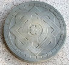 "14"" Celtic Stepping Stone Garden Mold - Buy Three 14"" Molds - Get 1 More Free! image 3"