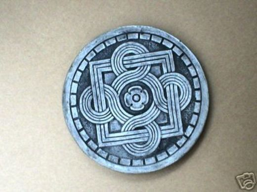 """14"""" Celtic Stepping Stone Garden Mold - Buy Three 14"""" Molds - Get 1 More Free!"""